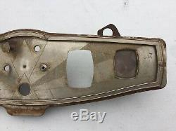 1930 Marmon Art Deco Instrument Panel Bezel Scta Trog Vintage Dash Instrument