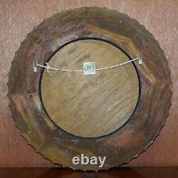 1 Of 10 Rrp £2950 Christopher Guy Gold & Silver Leaf Gilt Wood Wall Mirrors
