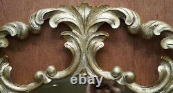 1 Of 2 Rrp £2850 Christopher Guy Gold & Silver Leaf Gilt Wood Wall Mirrors