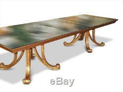 Amazing 12ft Christopher Guy Designer Art Deco style table French Polished