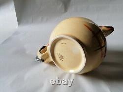 Art Deco Myott Cat & Mouse Globe Jug Cat Handle Very Rare