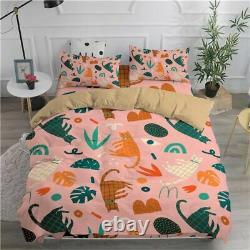 Bedding Set Cats 3D Duvet Cover Set Twin Full Queen King Double Sizes Comforter