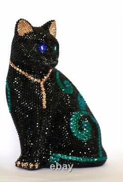 Black Cat Swarovski Stones