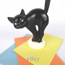 Brieföffner Goebel Katze Brezelhalter Cat Letter Opener Hummel Figur ArtDeco 30s