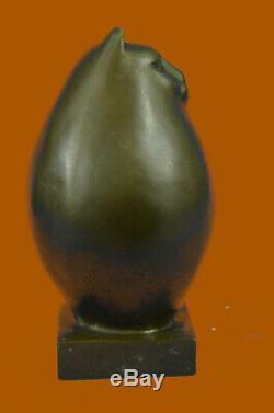 Bronze Sculpture by Botero Cat Feline Pet Animal Art Deco Statue Figurine Gift