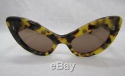 CLASSIC CATS EYE CUTLER AND GROSS British Vintage Eyewear 1980s RARE