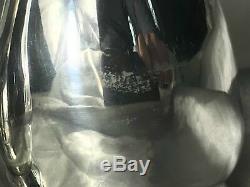 Fine Pair English Silver Plate Animal Pug Dog & Cat Salt Pepper Shaker Stamped