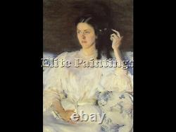 Girl With A Cat Artist Painting Reproduction Handmade Oil Canvas Repro Art Deco