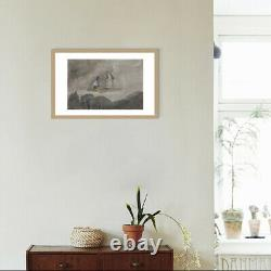 Hand Made Water Color On Paper Art Decoration Propylene Meteor Shower Painting
