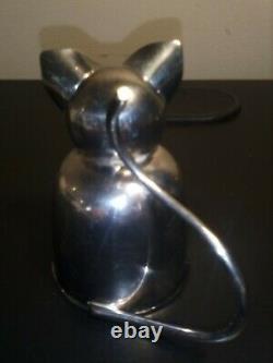 Napier Cat Jigger, 1930s Jigger, Napier Art Deco Jigger, Napier Barware 2 Oz