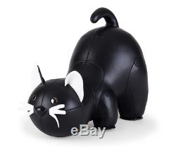 New Zuny Bookend Classic Cat Black Office Supplies Art Accessories Book Holder