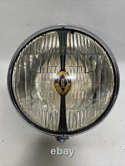 Vintage Art Deco Auto Lite Cats Eye Driving Lamp Cb Aux Lamp Ford Chevy Dodge