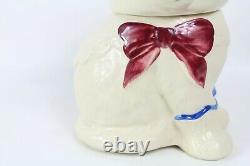 Vintage Shawnee Pottery Puss N Boots Cat Cookie Jar Made in the USA