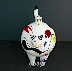 Vintage Villeroy & Boch France Animal Park By R Benedikt Cat Figurine Porcelain