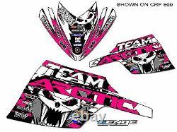 05 06 07 08 09 10 11 Arctic Cat M Series Crossfire Graphics Kit Deco Wrap Pink