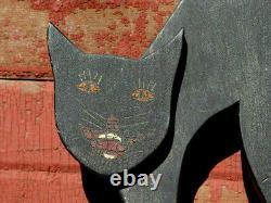 1930 Art Deco Folk Art Cat Stand