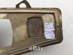 1930 Marmon Art Déco Instrument Panel Bezel Scta Trog Vintage Dash Instrument