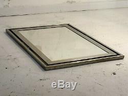 1970 Guy Lefevre Jansen Miroir Art-deco Bauhaus Shabby Chic-adnet Kappa