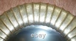 1 De 10 Rrp £2950 Christopher Guy Gold & Silver Leaf Miroirs Muraux En Bois De Gilt