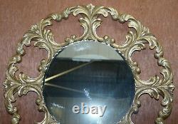 1 De 2 Rrp £ 2850 Christopher Guy Gold & Silver Leaf Gilt Bois Miroirs