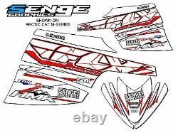 2003 2004 2005 2006 Arctic Cat Firecat Sabercat Graphics Kit Deco Wrap F5 F6 F7