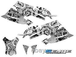2003 2004 Arctic Cat Firecat Sabercat Graphics Kit Deco Wrap F5 F6 F7