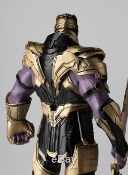 Art Déco Sculpture The Avengers Bad Guy Thanos Statue Bronze