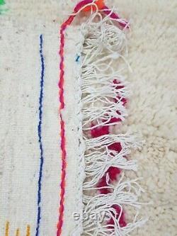 Azilal Rug Vintage Authentique Tapis Berbère Marocain Handmade Rug Area Rug