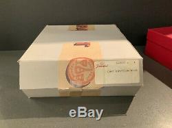 Baccarat Cristal Noir / Catoriginal Boîte De Rangement D'expédition Original Box