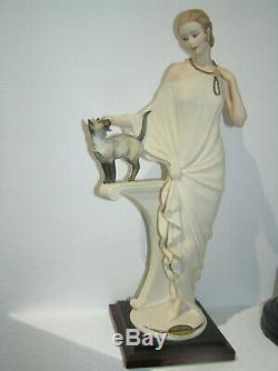 Belle Florence Giuseppe Armani Danielle Art Deco Dame Cat 13 33cm High