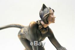 Chat Et Souris Sculpture De L'auteur Original Sculpture Livraison Dans Le Monde