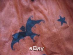 Childs 1940 Robe Halloween Sorcière Bat Chat Hibou Costume Orange Et Noir Avec Photo