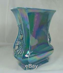 Cowan Poterie Guy Cowan 1924 Lauréat Du Prix Logan Vase 649-b Larkspur Luster