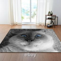 Cute Cat Print 3d Tapis Moderne / Tapis. Non-glissement
