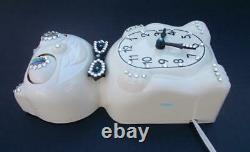 Électrique-kit Investissement De Cat Klock-kat Clock- Withcustom Eyes-vintage-works- USA