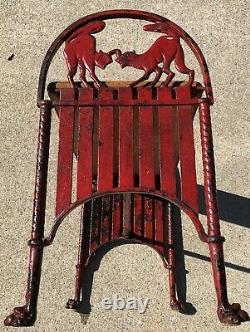 Fonte Cat Banc Halloween Art Déco