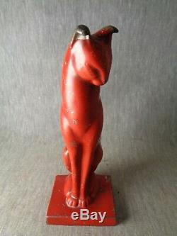 Girly-girly Cat. Cat Est De 1 Sur Un Million. Rare Art Déco Rouge Frankart Chat