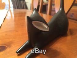 Hou La La! Belle Limitée Royale Dux Black Cat Figurine