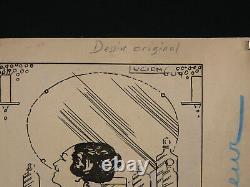 Lucien Guy (xix-xx) Encre Chine 2 Femmes Nues Nu Érotique Époque Art Déco 1930