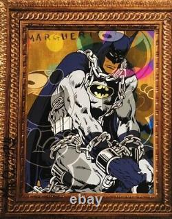 Mr Clever Art A Caged Bat Street Art Graffiti Pop Art Urbain Déco Felix Le Chat