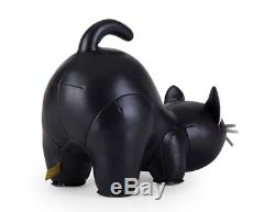 Nouveau Zuny Bookend Classique Cat Bureau Noir Art Supplies Accessoires Porte-livre