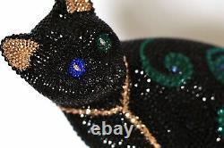 Pierres Swarovski Black Cat