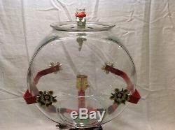 Poisson Anciennes Bowl Aquarium Holder Art Déco Lumière Escalade Cat