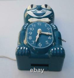 Rare Blue-vintage De 1980 Réabuissement De Moteur Électrique-kit Klock-kat Clock-original