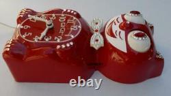 Réaffectation De L'électrique-kit De Red-vintage De La Cat Klock-kat De La Cat Klock-kat Des Moteurs Originaux De Réaffectation De L'électrique