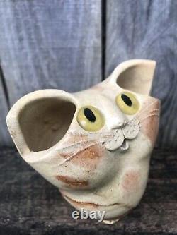 Schaer Cat Yeux Jaune Pottery Australien Birman Excellent État