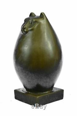 Sculpture En Bronze Botero Cat Gato Félin Animaux Art Déco Animaux Statue Cadeau Affaire