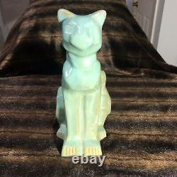 Shearwater Poterie Art Déco Baie Vitrée Cat Statue Figure