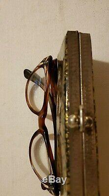 Sol Moscot Vintage Case Verres Rare Sol Moscot Case & Cats Les Lunettes