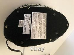 Tiffany Style Lampe De Chat Acrylique Lampe Accent Avec Yeux Verts 12x6x7